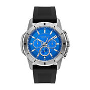 Caravelle, New York Mens Black Strap Watch-43a138