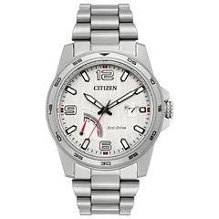 Citizen Mens Silver Tone Bracelet Watch-Aw7031-54a