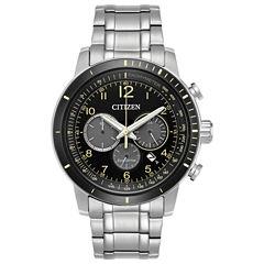 Citizen Mens Silver Tone Bracelet Watch-Ca4358-58e