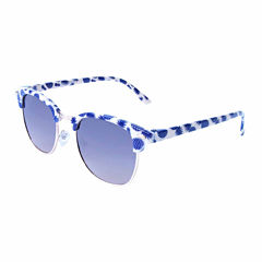 Full Frame Round Sunglasses-Mens