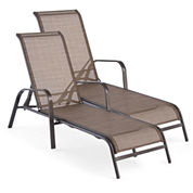 Outdoor Oasis™ Newberry Lounge Chairs -Set of 2