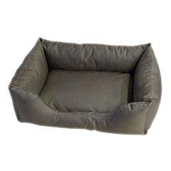 Carolina Pet Company Brutus Tuff Kuddle Lounge Bolster Dog Bed