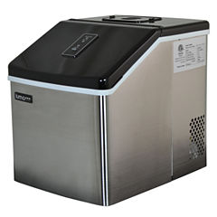 Luma Comfort IM200SS Stainless Steel Portable Clear Ice Maker