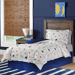 Lullaby Bedding Space Lightweight Comforter Set