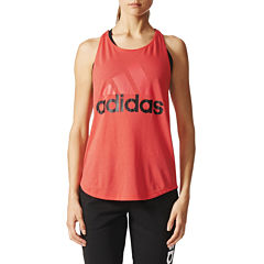 adidas® Graphic Logo Tank Top