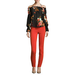 i jeans by Buffalo Tie Front Off Shoulder Top or Super Stretch Pants
