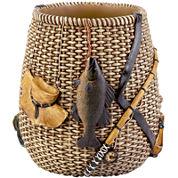 Avanti Rather Be Fishing Wastebasket