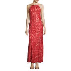 Trixxi Sleeveless Sequin Party Dress-Juniors