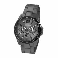 Geneva Mens Gray Bracelet Watch-Jry1770gu
