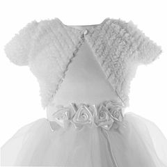 Keepsake Round Neck Shrug - Big Kid