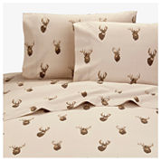 Browning Browning Whitetails Sheet Set Twin Cotton Sheet Set