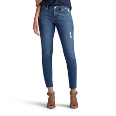 Lee® Midrise Ankle Jeans