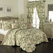 Waverly® Garden Glory 3-pc. Reversible Bedspread Set & Accessories