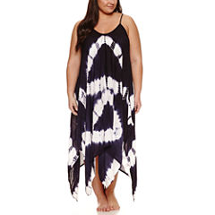 Suhani Tie Dye Rayon Swimsuit Cover-Up Dress