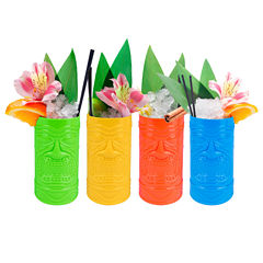 Wembley Tropical Tiki Cup Set