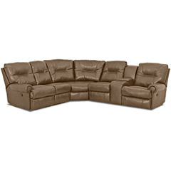 Brinkley 5-pc. Power-Reclining Motion Sectional