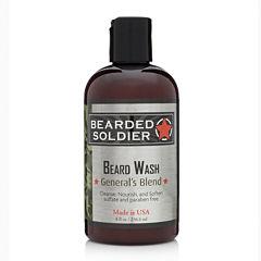 Bearded Soldier General's Blend Beard Wash - 8 oz.