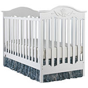 Fisher-Price Charlotte Convertible Crib - White - Free Mattress with Purchase, See Product Page for Details