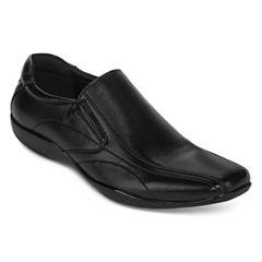 J.Ferrar Graphite Mens Slip-On Shoes