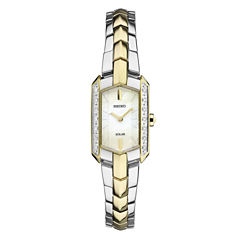 Seiko Tressia Womens Two Tone Bracelet Watch-Sup358
