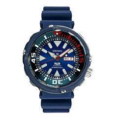 Seiko Prospex Mens Blue Strap Dive Watch-Srpa83