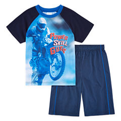 Jelli Fish Kids 2-pc. Motocross Pajama Set Boys
