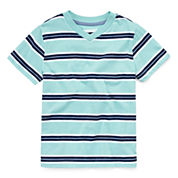 Arizona Boys Short-Sleeve Stripe Tee - Preschool 4-7