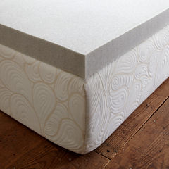 PuraSleep Carbon Tech Gel Cooled Memory Foam Mattress Topper - 2In