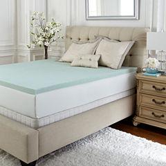 PuraSleep Vila Gel Cooled Luxury Memory Foam Mattress Topper- 2In