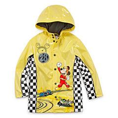 Disney Boys Mickey Mouse Raincoat-Big Kid