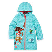 Disney Girls Moana Raincoat-Big Kid