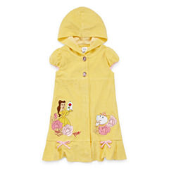 Disney Girls Beauty and the Beast Solid Dress-Big Kid