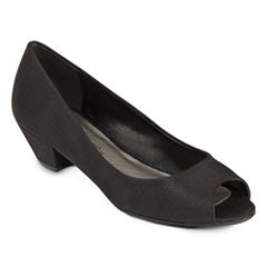 CL by Laundry Home Run Peep-Toe Pumps