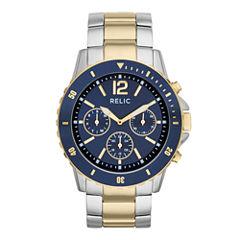 Relic® Mens Two-Tone Sport Watch ZR15772