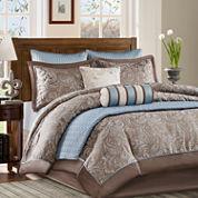 Madison Park Whitman 8-pc. Comforter Set + BONUS Coverlet