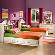 Bailey Youth Captains Platform Bed with Storage