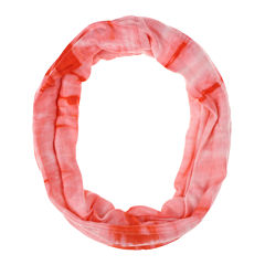 Capelli of New York Tubular Jersey Fabric Head Wrap With Tie-Dye Print  Jersey