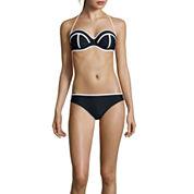 Arizona Pushup Bandeau Swim Top or Hipster Swim Bottoms - Juniors