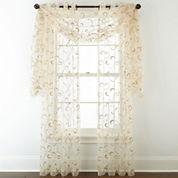 Royal Velvet® Plaza Embroidery Sheer Window Treatments