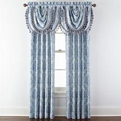 Royal Velvet® Supreme Damask Pinch Pleat/Back Tab Window Treatments