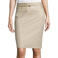 Liz Claiborne® Belted Skirt