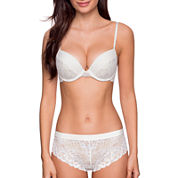 Dorina Claire Lace T-Shirt Underwire Bra and Lace Hipster Panty