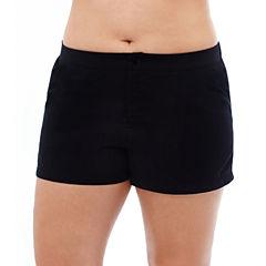 St. John's Bay Solid Swim Shorts