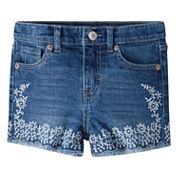 Levi's Knit At Waist Shortie Shorts - Toddler Girls