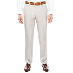 Men's J.Ferrar Bone Shimmer Flat-Front Slim Fit Pants