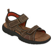 St. John`s Bay Mansel Mens Strap Sandals