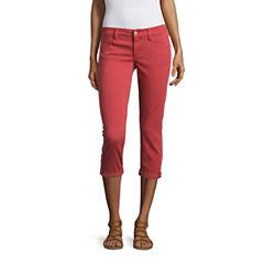 Arizona Cropped Pants-Juniors