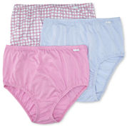 Jockey® Elance® 3-pk. Cotton Briefs - 1486 Plus