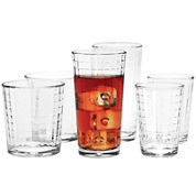 Circleware Windowpane 30-pc. Glassware Set