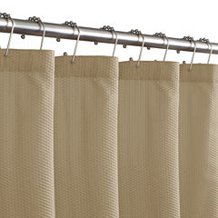 Maytex Microfiber Textured Shower Curtain Liner